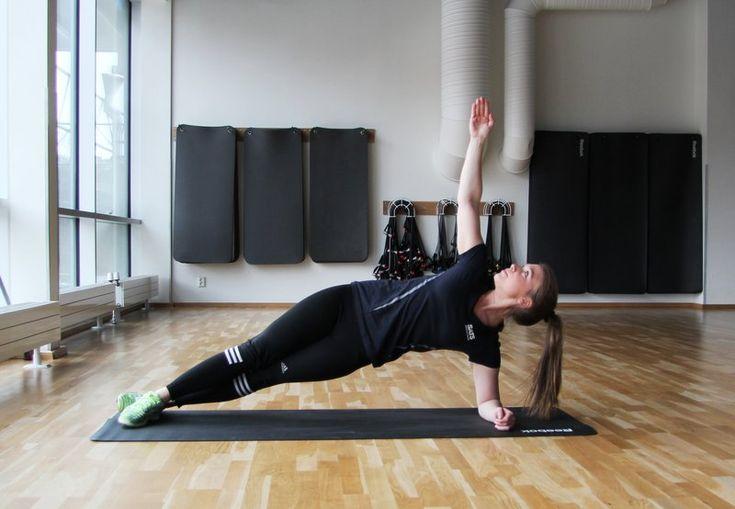 3 övningar för en stark och vältränad mage