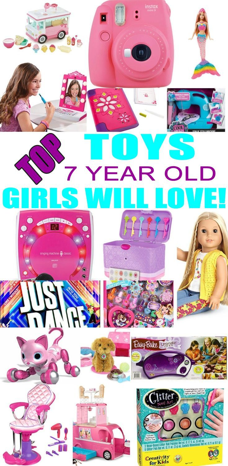 Top Toys For 7 Year Old Girls Best Toy Suggestions Gifts Presents A Seventh Birthday Christmas Or Just Because