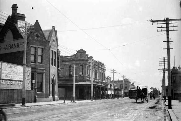 Mount Alexander Rd,Ascot Vale in Victoria (year unknown).