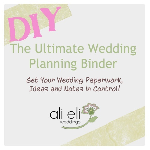 Wedding planner wedding planner binder printables for Diy wedding binder templates