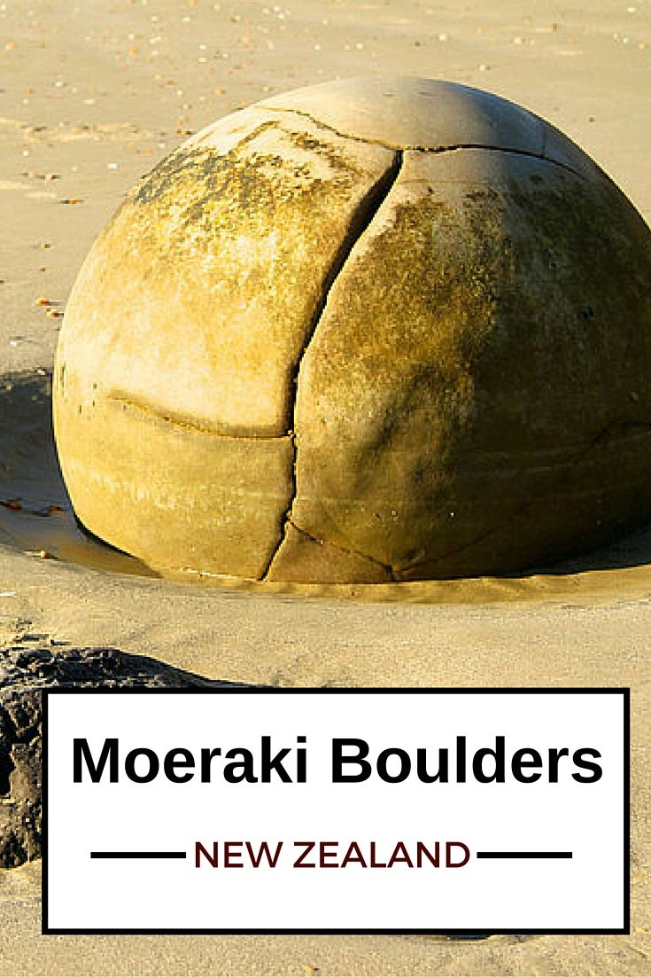 THis is one of the most fascinating geological phenomenon I have every seen! More photos in the post: Plan your visit to the Moeraki Boulders, New Zealand - http://www.zigzagonearth.com/moeraki-boulders-new-zealand/