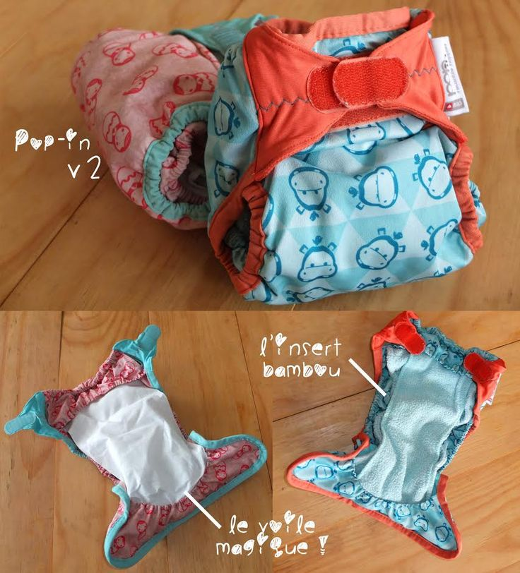 Couche lavable pop-in