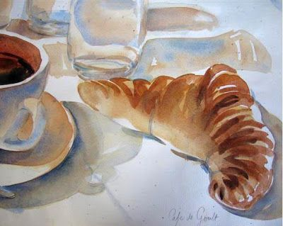 paris breakfasts: Croissants!