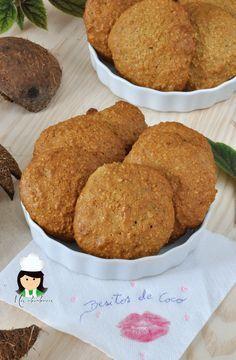 Besitos de coco, cocotut kisses, cookies, coco, coconut,Venezuela