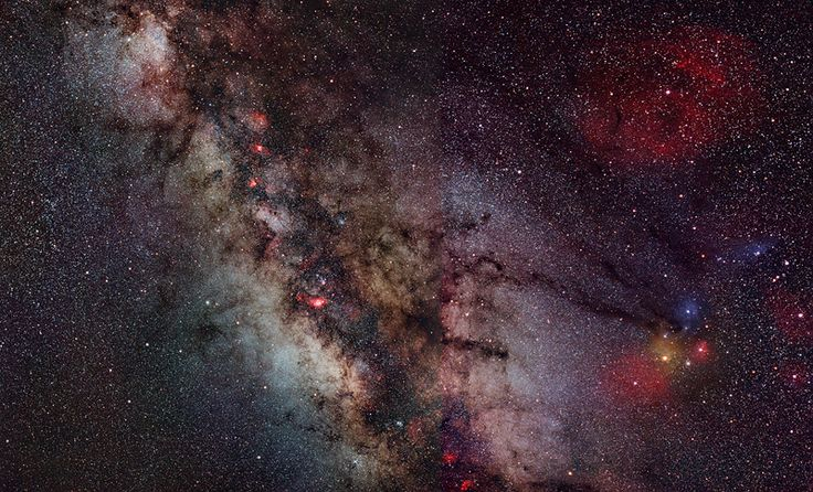 another galaxy besides the milky way - HD2400×1453