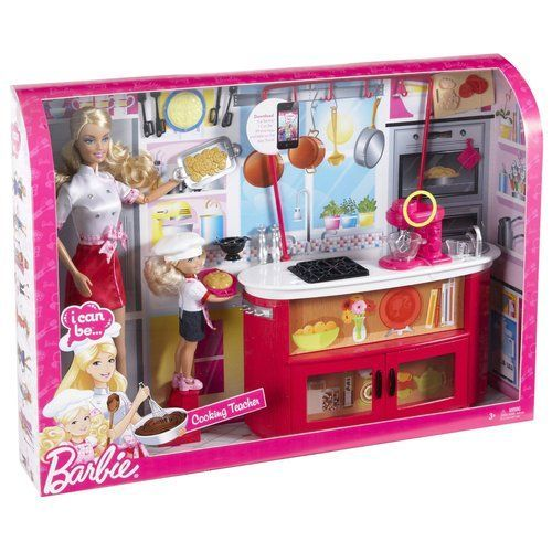 barbie food at walmart barbie i can be cooking teacher playset chelsea doll food mixer really. Black Bedroom Furniture Sets. Home Design Ideas