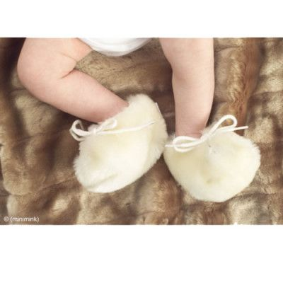 (minimink) newborn milk booties - Keep your baby's feet warm this winter!