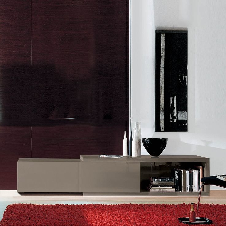 Contemporary Tv stand/sideboard Gliss Low by Orme