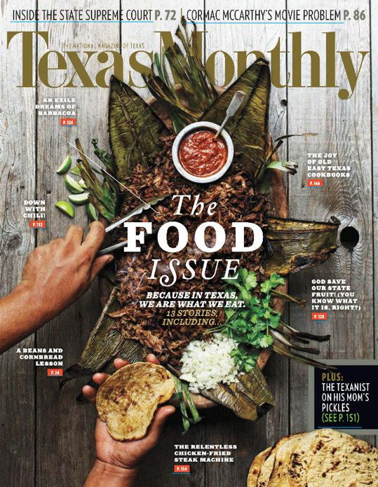 TEXAS MONTHLY #greatcover