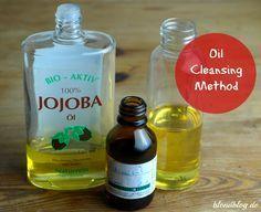 Oil Cleansing Method bei fettiger Haut & Mischhaut: Rizinus- & Jojobaöl