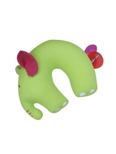 Μαξιλάρι Αυχένα Cuddlebug Ελεφαντάκι | www.lightgear.gr