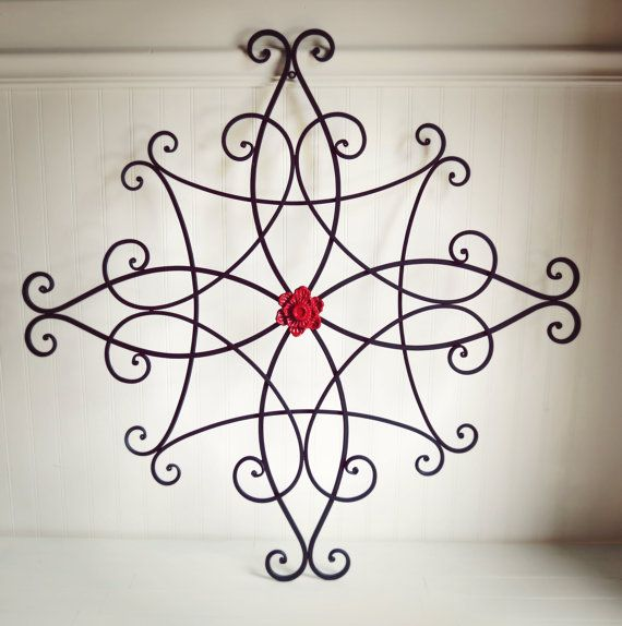 Large Metal Wall Art / Outdoor Metal Wall Art / by WillowsGrace, $75.00