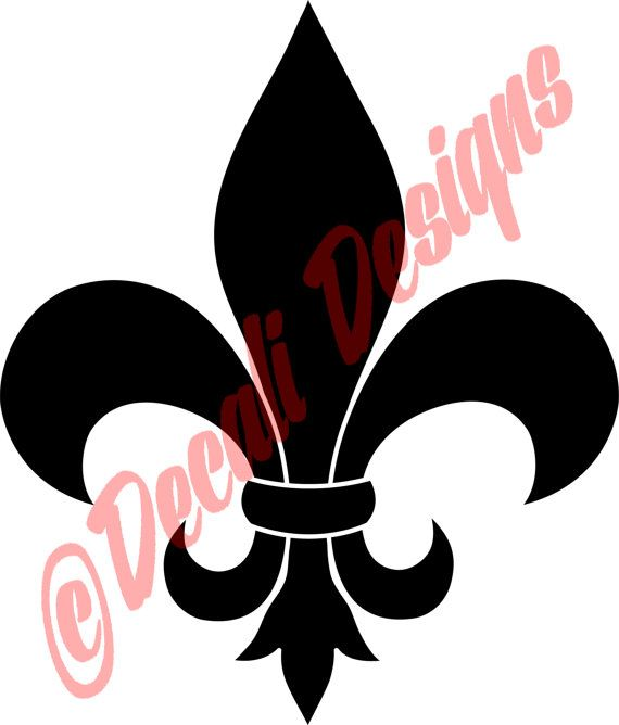 Fleur De Lis Decal/New Orleans/NFL Saints/Saints by DecaliDesigns, $4.00