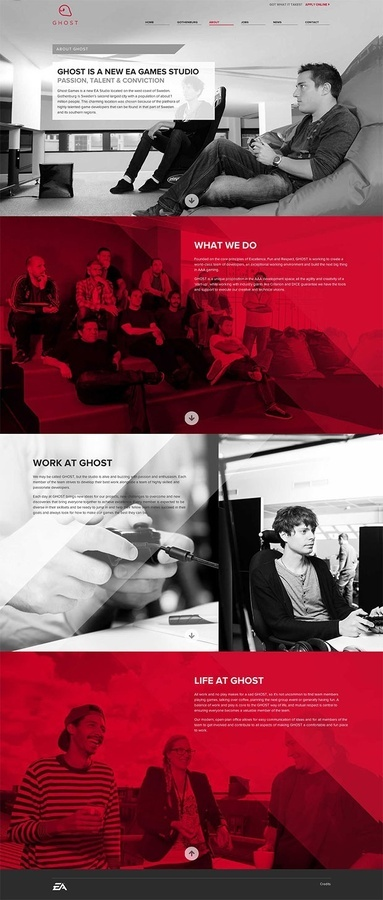 Ghost webdesign