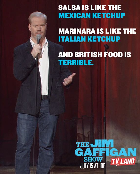 Watch THE JIM GAFFIGAN SHOW for more food wisdom by Jim Gaffigan. Series premieres on July 15, 2015 at 10/9C on TV Land. Click to watch a sneak preview.