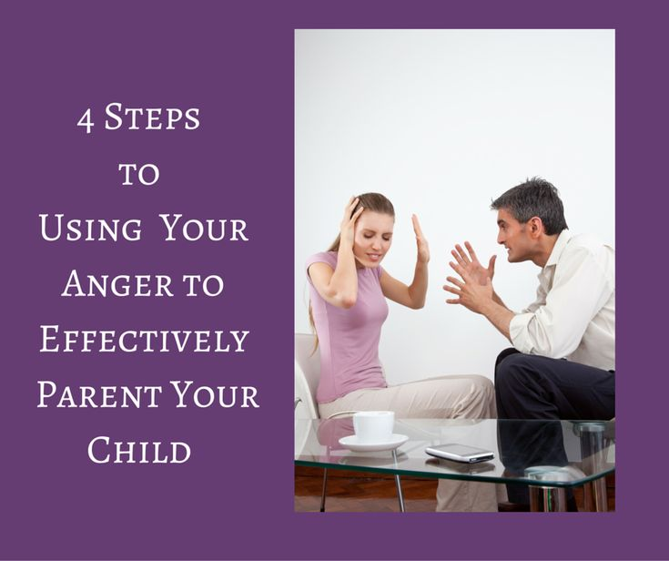 Well, instead of getting rid of it, how about using 4 Steps to use your anger effectively to parent your child.
