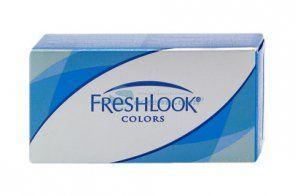Soczewki kontaktowe FreshLook Colors 2 szt. - soczewki miesięczne, sferyczne, kolorowe - Blue, Grey, Green, Pure Hazel, Violet, Saphire