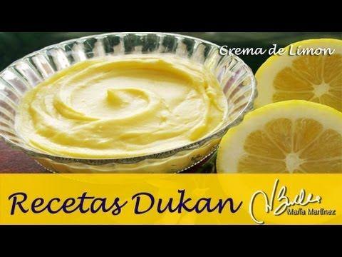Adelgazar: Crema de limón de Adri Galeano (Dieta Dukan Crucero) / Diet Lemon Curd (Gluten Free)