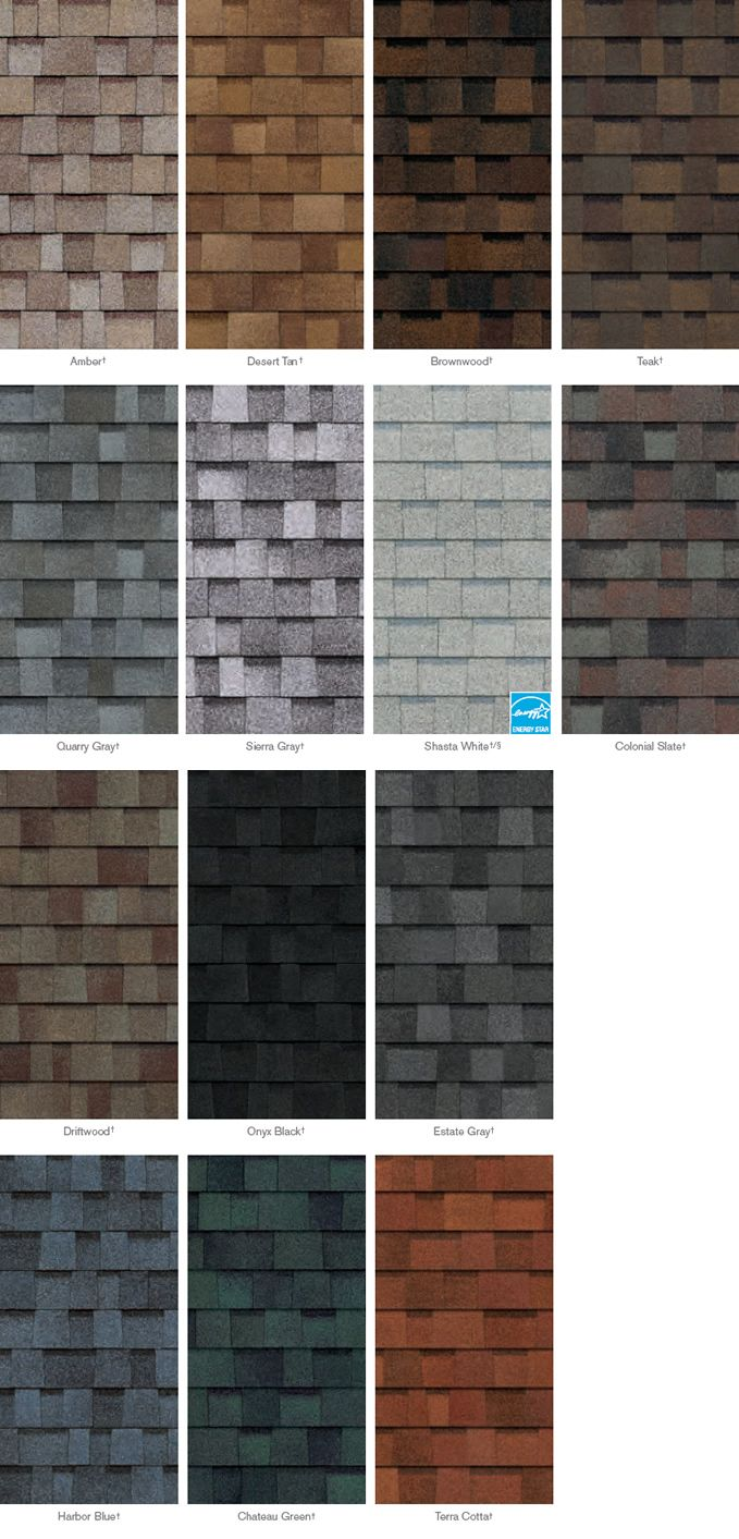 Best Trudefinition™ Duration® Shingle Color Options Quarry 400 x 300