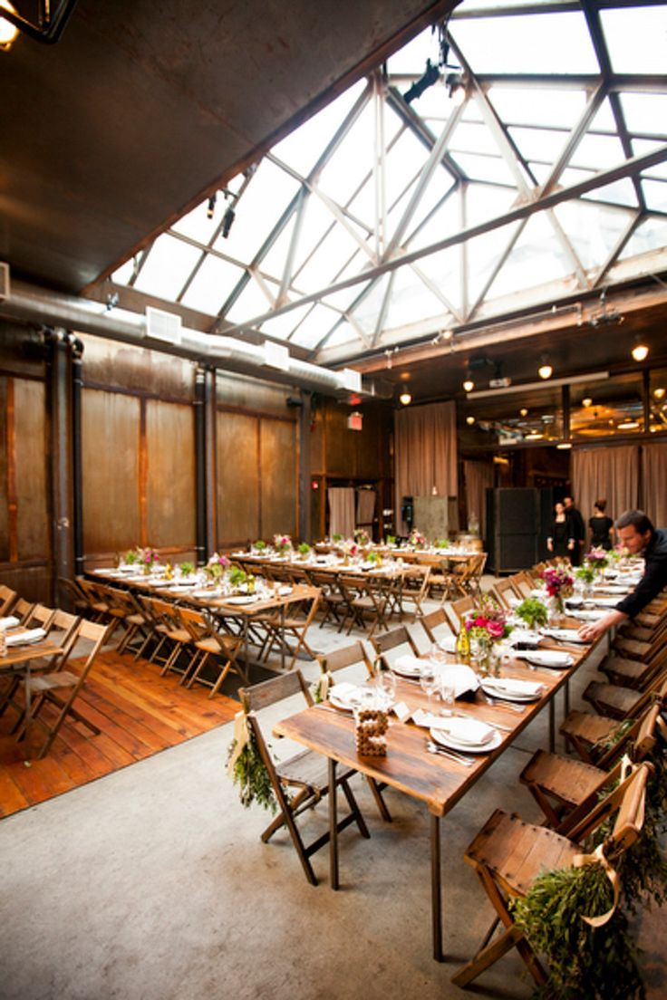 Image Result For Loft Event Venues Near Rochester Ny Urban Wedding Brooklyn Winery Industrial Wedding Style