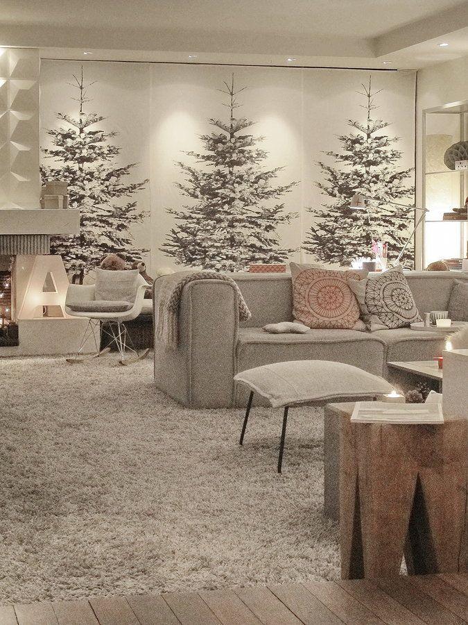 Winterwunderland weihnachtsdeko pinterest - Weihnachten wohnzimmer ...