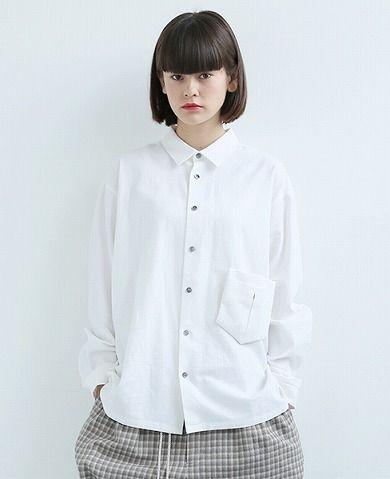 EDWINA HOERL sexless wide shirt