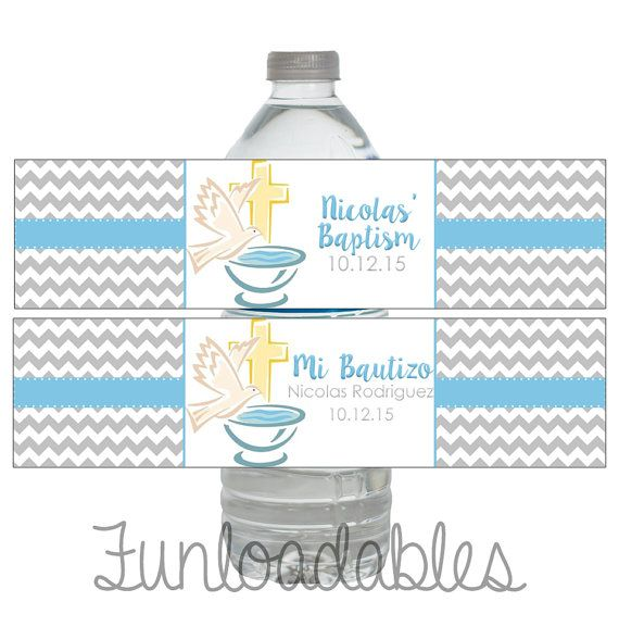 Baptism / Bautizo  English and/or Spanish  Water by Funloadables