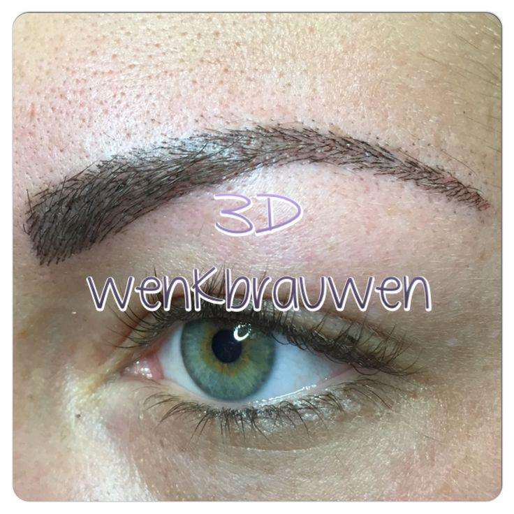 Wilt u ook graag natuurlijke wenkbrauwen met de 3D techniek met permanente make-up ? Zo natuurlijk heeft u ze nog nooit gezien. Elk haartje lijkt 90% natuurlijk. Bel of mail voor gratis advies. Beautyvit Huidverbetering dreef 10 in Breda 076-5223838 info@beautyvit.nl neem ook een kijkje op onze website www.beautyvit.nl