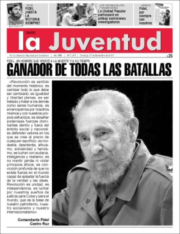 Resultado de imagen para periódicos de uruguay