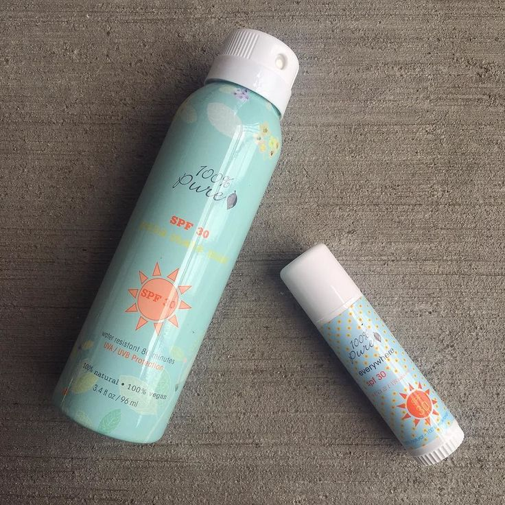 New sunscreens to try from 100 Percent Pure!  Have you guys tried these? . The Yerba Mate sunscreen spray is enriched with anti-inflammatory tea and has no discernible scent. The sunscreen stick has no scent either and seems like for a sun stick. What's your experience with these?  . . .