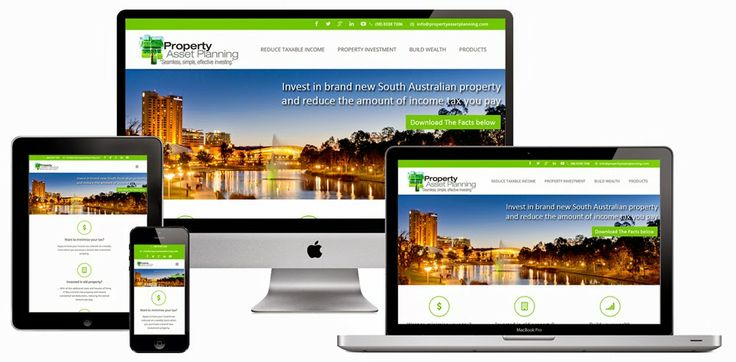 Property Asset Planning is another new client. The new website is responsive