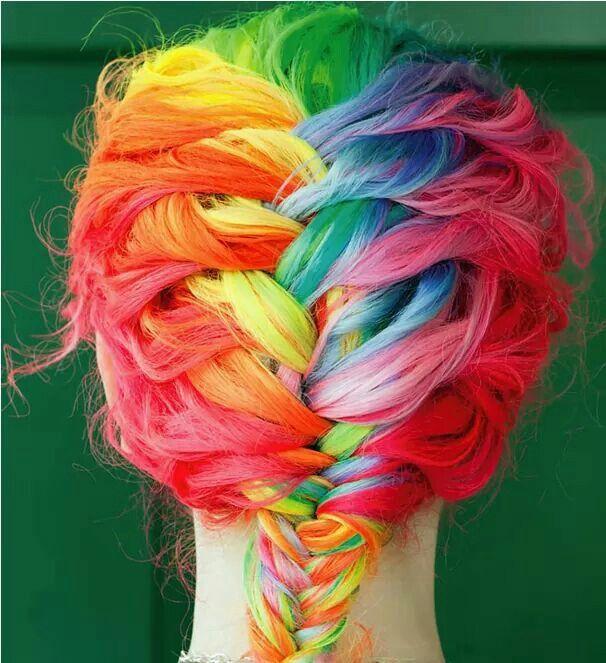 Pelo arcoiris