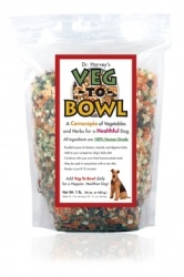 Veg-to-Bowl is a grain-free high quality dog food pre-mix made with nine different vegetables that when mixed with protein and oil makes a complete all- natural dog food for companion dogs. Veg-to-Bowl is an all natural dog food that is incredibly healthy, easy to prepare and absolutely delicious!