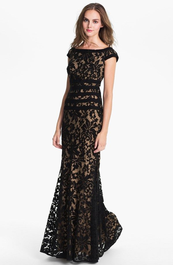 Textured Lace Mermaid Gown   #Wedding #Style #Nordstrom