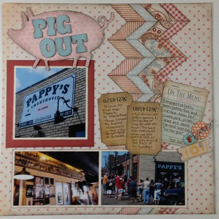 Pig Out by Laura Leland Feb13 | Pig, Menu, Leland
