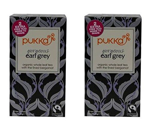 (2 PACK) - Pukka Gorgeous Earl Grey| 20 Bags |2 PACK - SUPER SAVER - SAVE MONEY ** Click image to review more details.