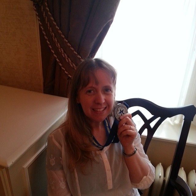 une 11, 2014: Jennifer Quist wins a 2014 Emerging Artist Award from the Lieutenant Governor of Alberta for her great first novel Love Letters of the Angels of Death (LLP 2013). Congratulations Jenn! Here she is with her medal. She also gets a great big cheque for $10,000.