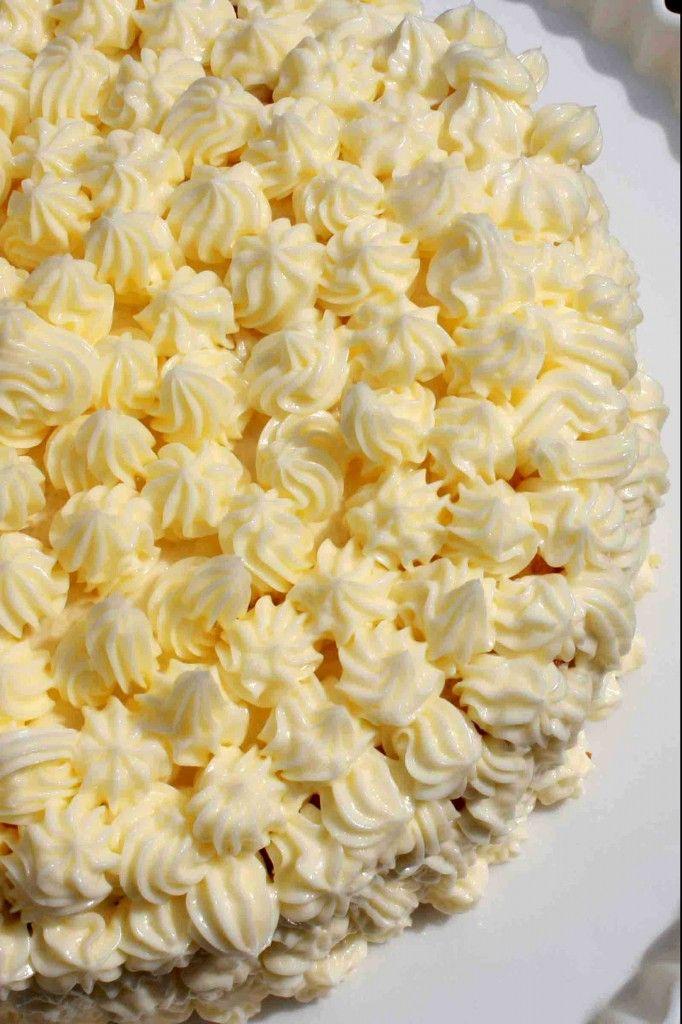 Buttery Nipple Frosting: 2 sticks unsalted butter, 4 cups powdered sugar, 3 tbsp Baileys Irish Cream, 3 tbsp Butterscotch Schnapps, yellow food coloring