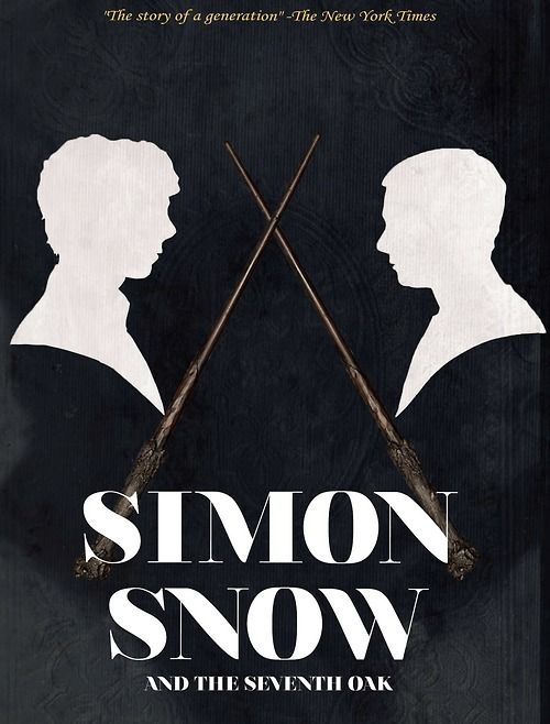"""Simon Snow and the Seventh Oak"" by Gemma T. Leslie  — from Fangirl by Rainbow Rowell"