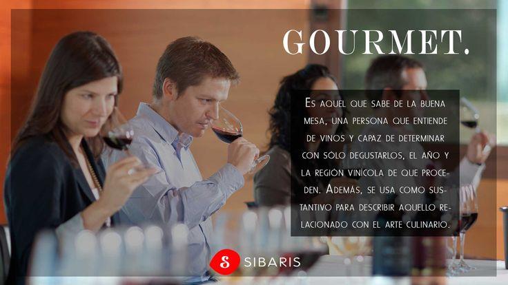 ¿Sabías el significado? ¡Pues ahora compártelo! Palabras Gourmet que te harán ser un autentico #sibarita