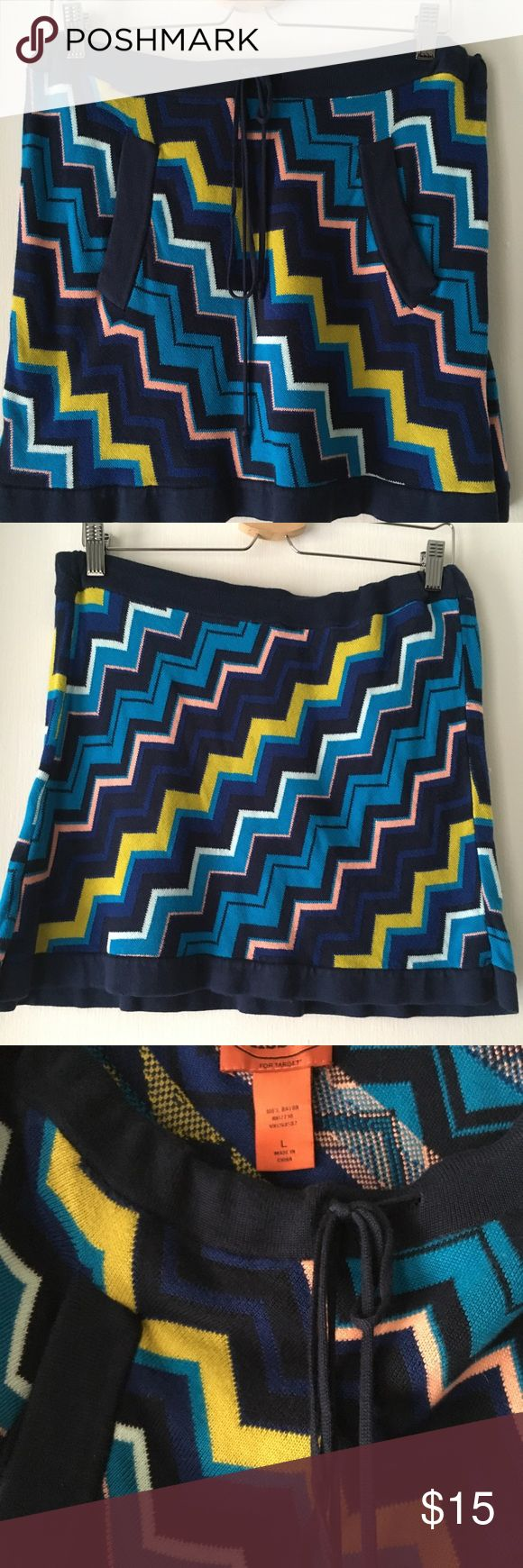 Missoni for Target skirt Missoni for Target• Juniors size Large• EUC• Make me an offer 😉 Missoni Skirts Mini
