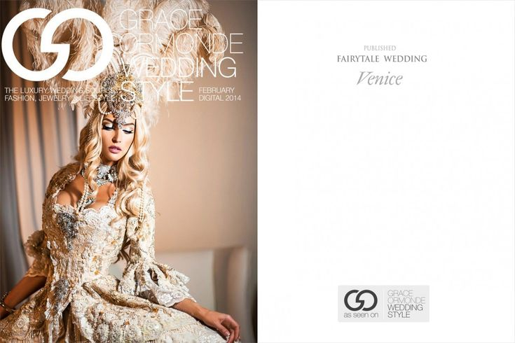 Featured on Grace Ormond Wedding Style Cover