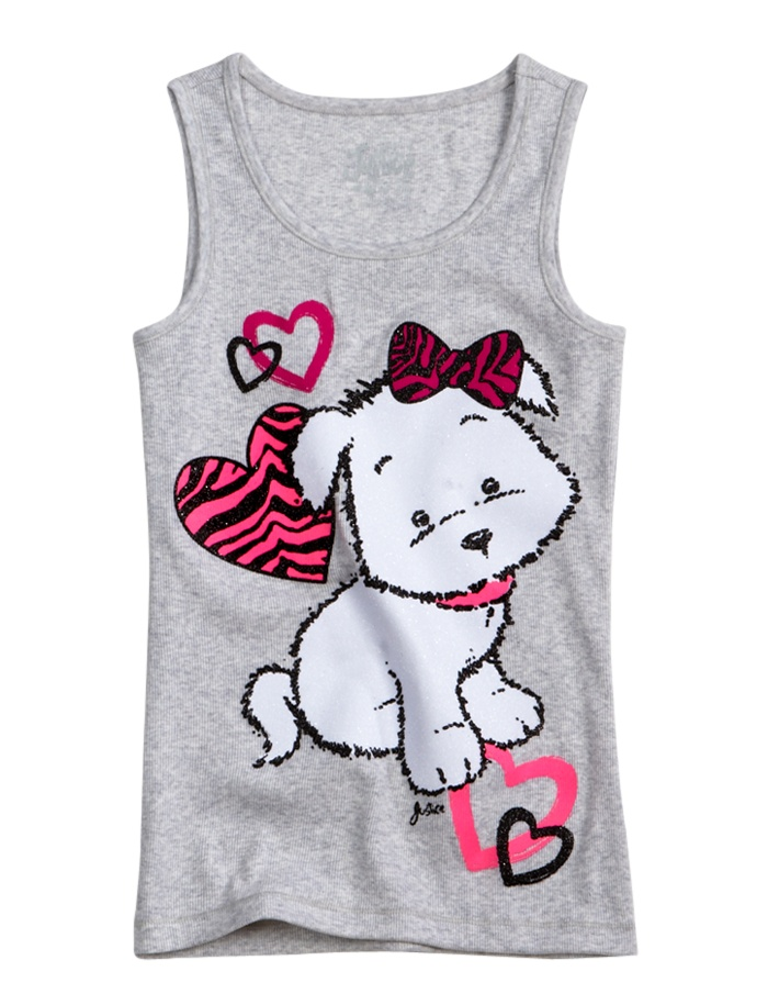 Girls Clothing | Tanks & Bandeaus | Graphic Tank | Shop Justice