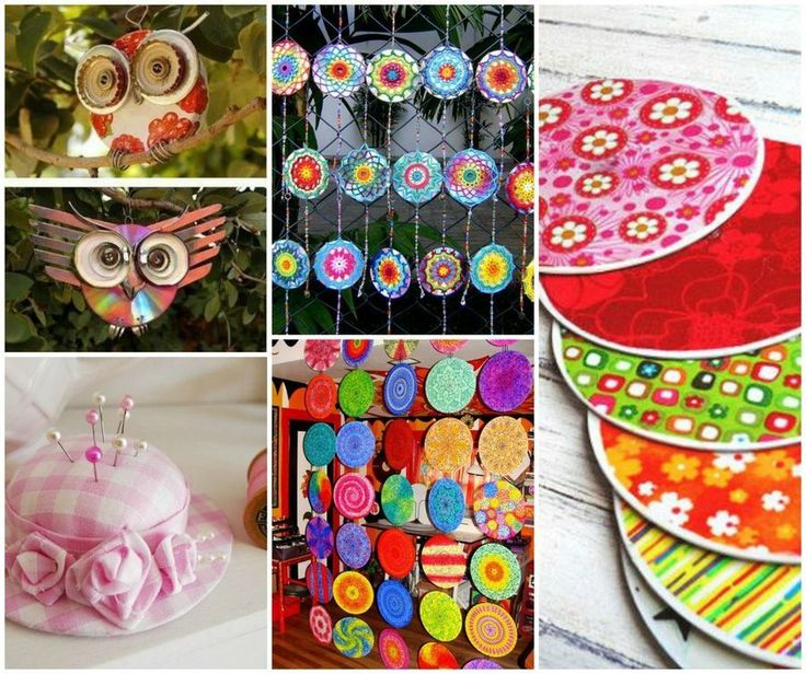 Top 25 ideas about labores y manualidades on pinterest - Manualidades con cd viejos ...