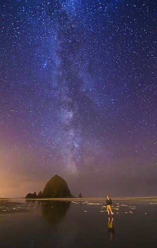 Milky Way - Cannon Beach, Oregon---my beach. My other home next to