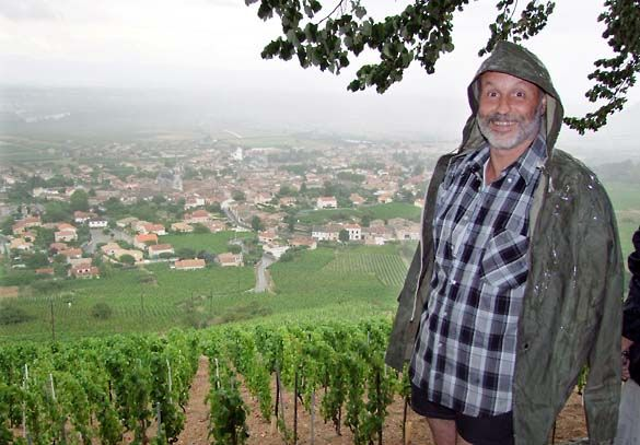 Thierry Allemand, another Syrah master from the Northern Rhone (Cornas).