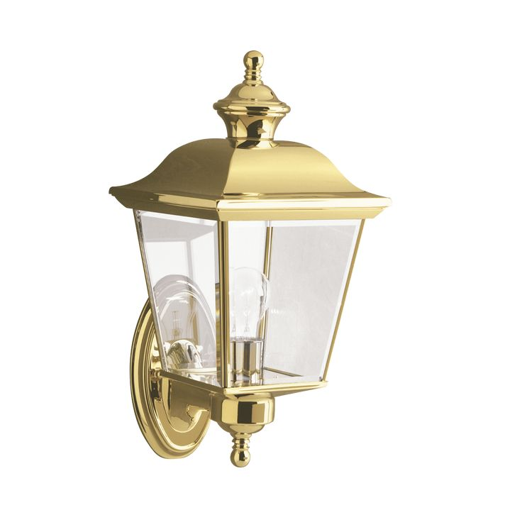 "Commercial Lighting Grove City Oh: Grove Mill 1 Light 19.5"" Outdoor Wall Fixture In Polished"