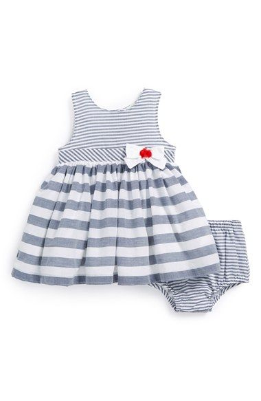 Little Me Sleeveless Dress & Bloomers (Baby Girls) available at #Nordstrom