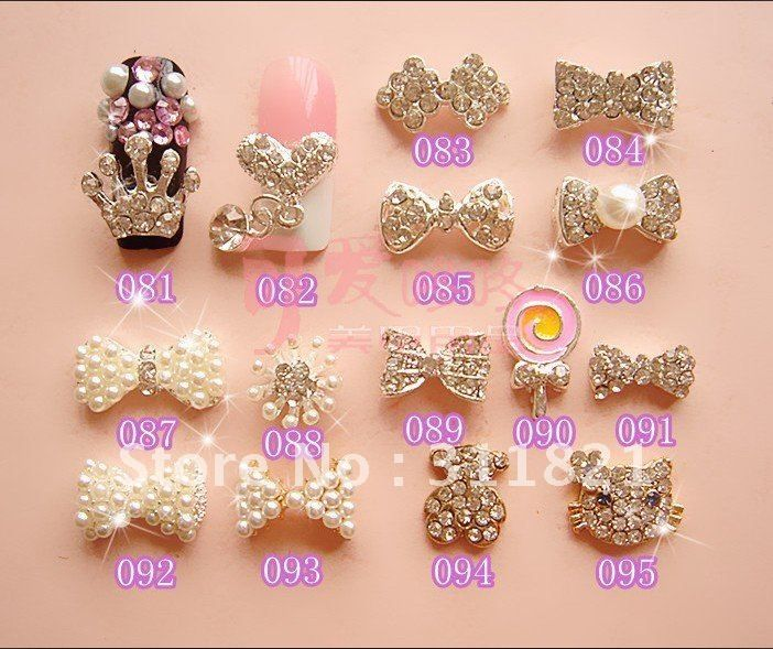 17 best images about nail charms on nail