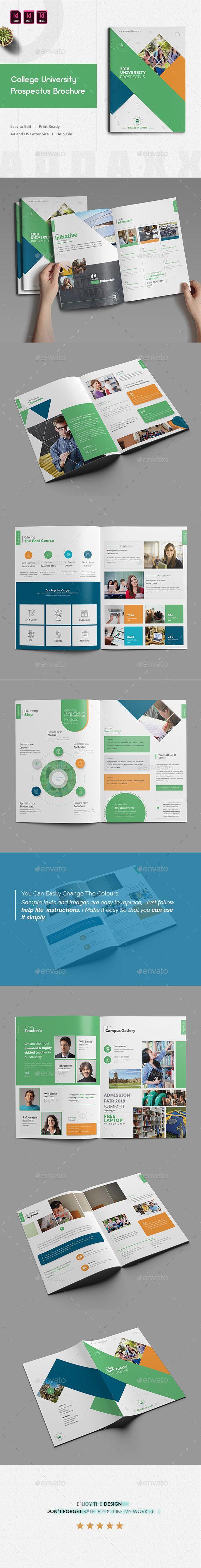 #College University Prospectus #Brochure - #Corporate Brochures